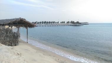 Rantapäivä yksityisellä rannalla